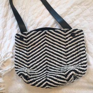 Zara knit bag!